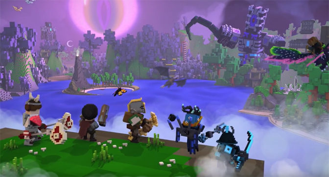 Voxel RPG Trove Launches For PlayStation 4 and XBox One