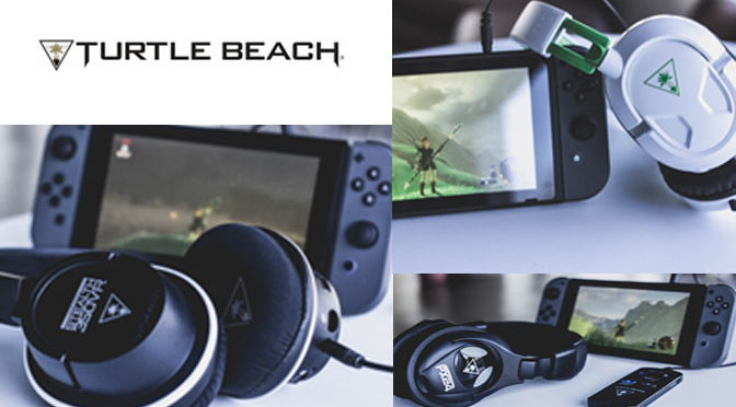 Turtle Beach Launches Line of Nintendo Switch Sound Gear