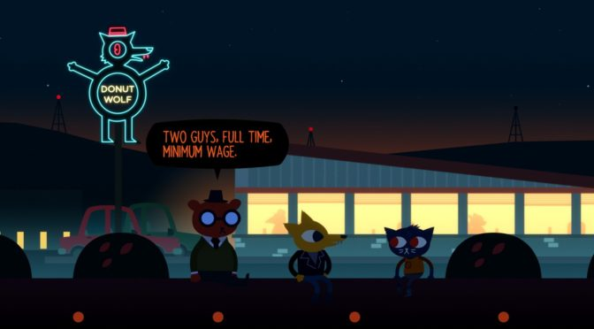 Night in the Woods has the Best Opening Line