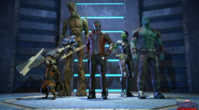 Episode One Of Guardians of the Galaxy Game Deploys