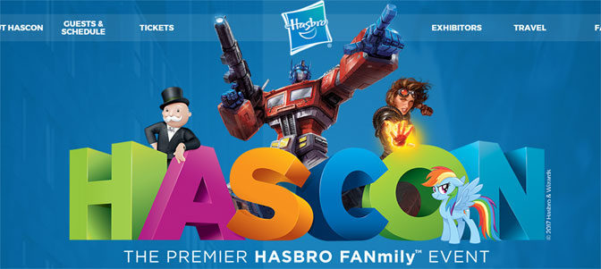 Hasbro Announces First Ever HasCon Fanmily Convention