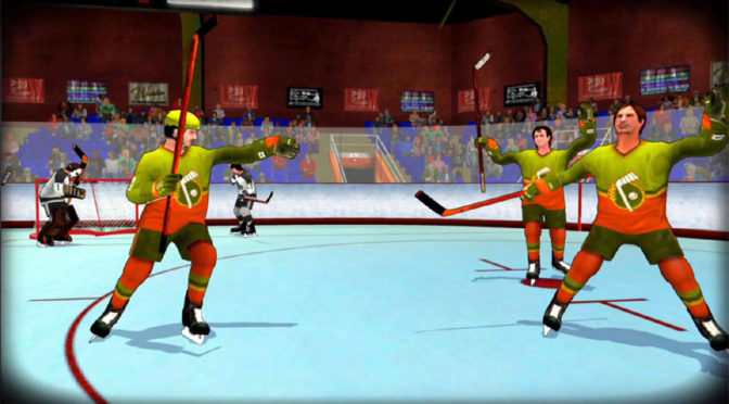 Bush Hockey League is out now on Steam and PS4