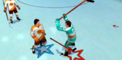 Enjoy the Slugfest With Old Time Hockey
