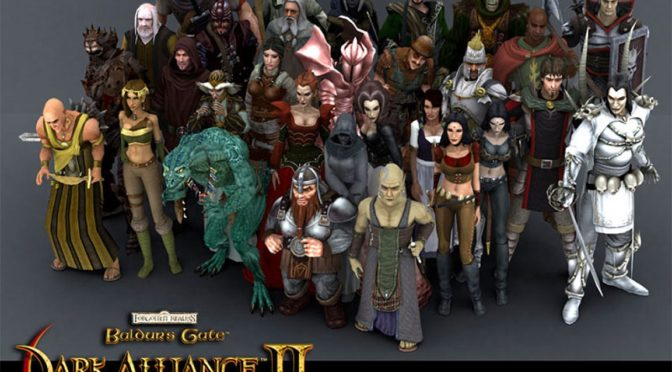Retro Game Friday: Baldurs Gate Dark Alliance II