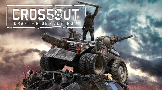 Beautiful Vehicular Manslaughter in Crossout MMO Beta