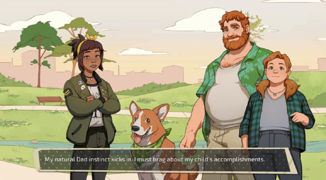 Daddy Dating Simulator Deploys on Steam