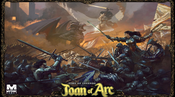 Mythic Games Bringing Joan of Arc Game To Gen Con 50