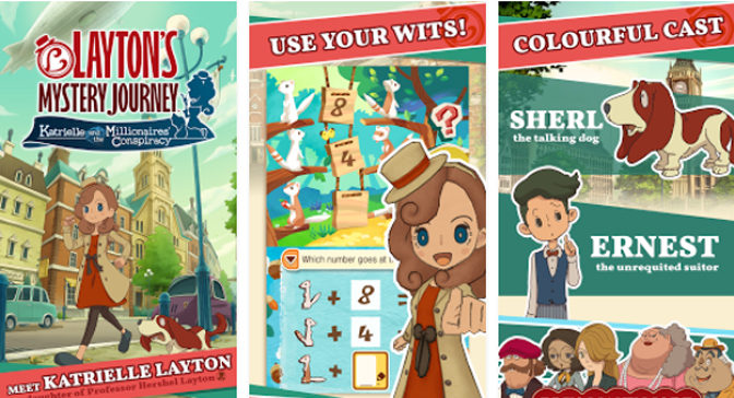 Layton's Mystery Journey Game Comes To iOS and Android