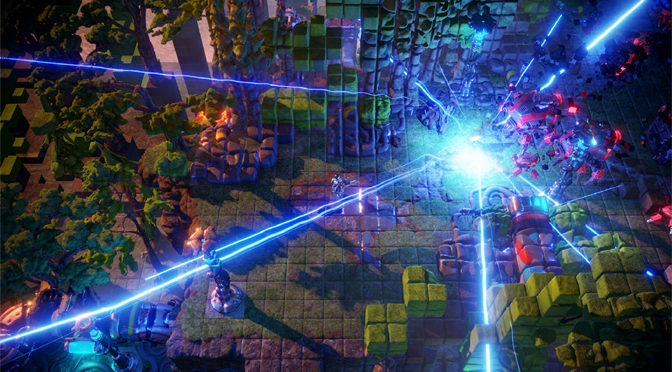 Nex Machina Offers a Brilliant twin-stick Arcade Shooter
