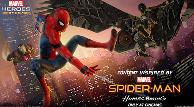 Spider-Man: Homecoming Event Launches for Marvel Heroes Omega