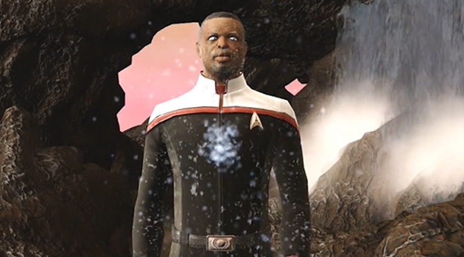 LeVar Burton Joins Star Trek Online As Captain Geordi La Forge