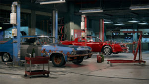 Build your dream vehicle, or just fix up grandma's ride. You choose which jobs to take in your fantasy garage.