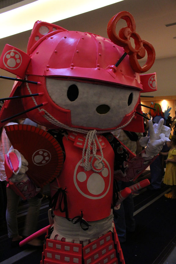 Hello Kitty Samurai. Kitty has claws!