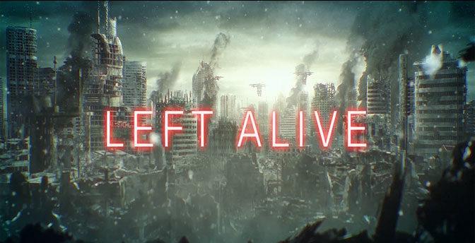 Square Enix Reveals New Shooter, Left Alive