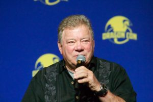 The inimitable William Shatner visited DragonCon. He's looking really good these days, which is great to see!