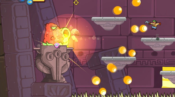 Greedy Guns Adds Another Metroidvania Game to PC