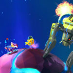 Rocking with Robonauts Gravity-defying Gunplay