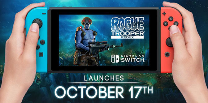 Rogue Trooper Redux Coming To Nintendo Switch