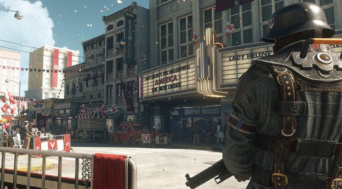 Wolfenstein II: The New Colossus Blitzkriegs Worldwide