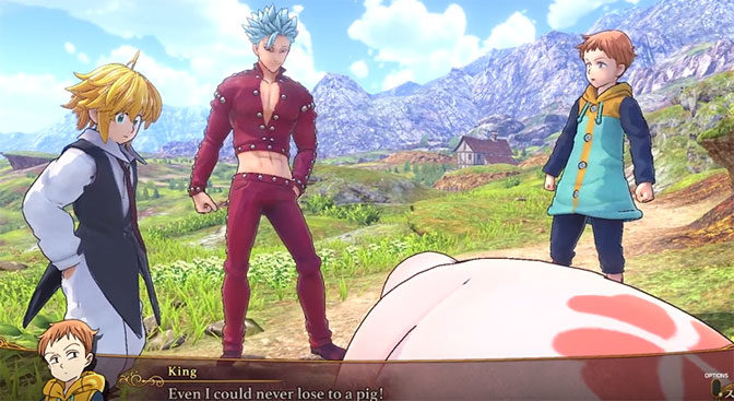 The Seven Deadly Sins: Knights of Britannia Gets New Trailer
