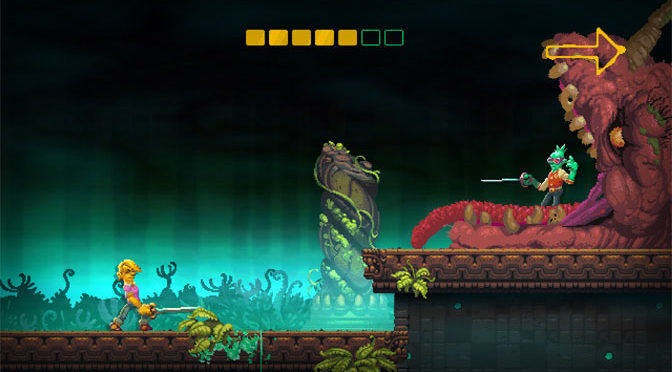Crazy Local Multiplayer Carnage in Nidhogg II