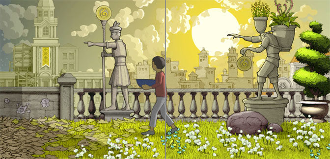 Gorogoa review: ingenious, hand illustrated puzzle gaming