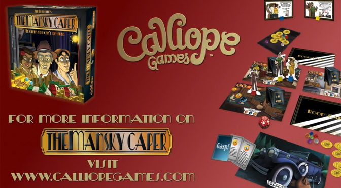 Game Artist Begins The Mansky Caper Kickstarter