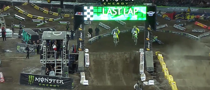 Monster Energy AMA Supercross Game Shows Off Amazing Visuals