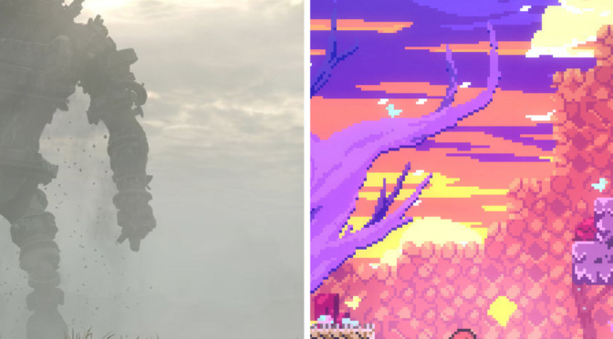 Control systems in Shadow of the Colossus and Celeste