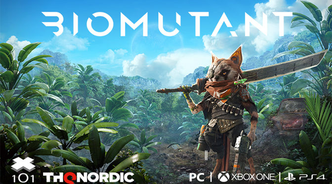 Kung-Fu RPG BIOMUTANT Releases New Trailer