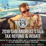 Rockstar Offers GTA Online Players 250K San Andreas Tax Refund