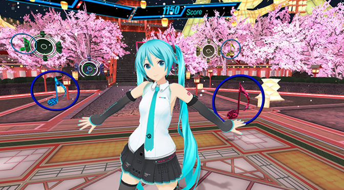 Famous Virtual Singer Hatsune Miku Gets Own VR Game
