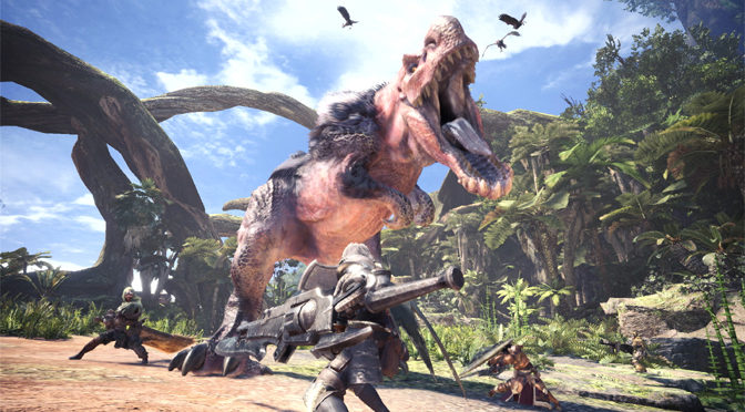Eat, Slay, Love with Monster Hunter World