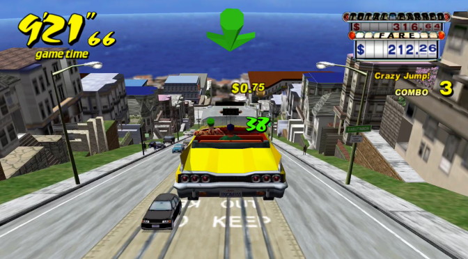 Retro Game Friday: Crazy Taxi