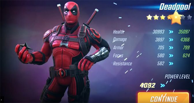 Deadpool Joins Marvel Strike Force Game