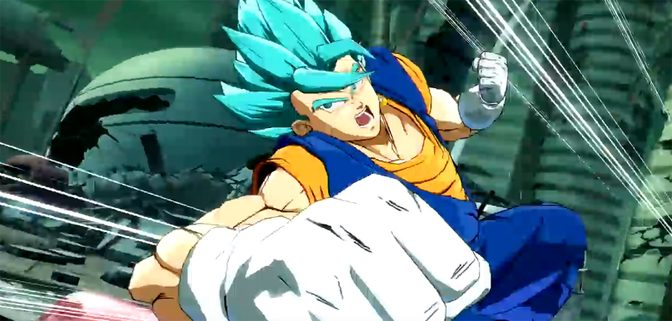 Vegito Joins The Fight in Dragon Ball Fighterz