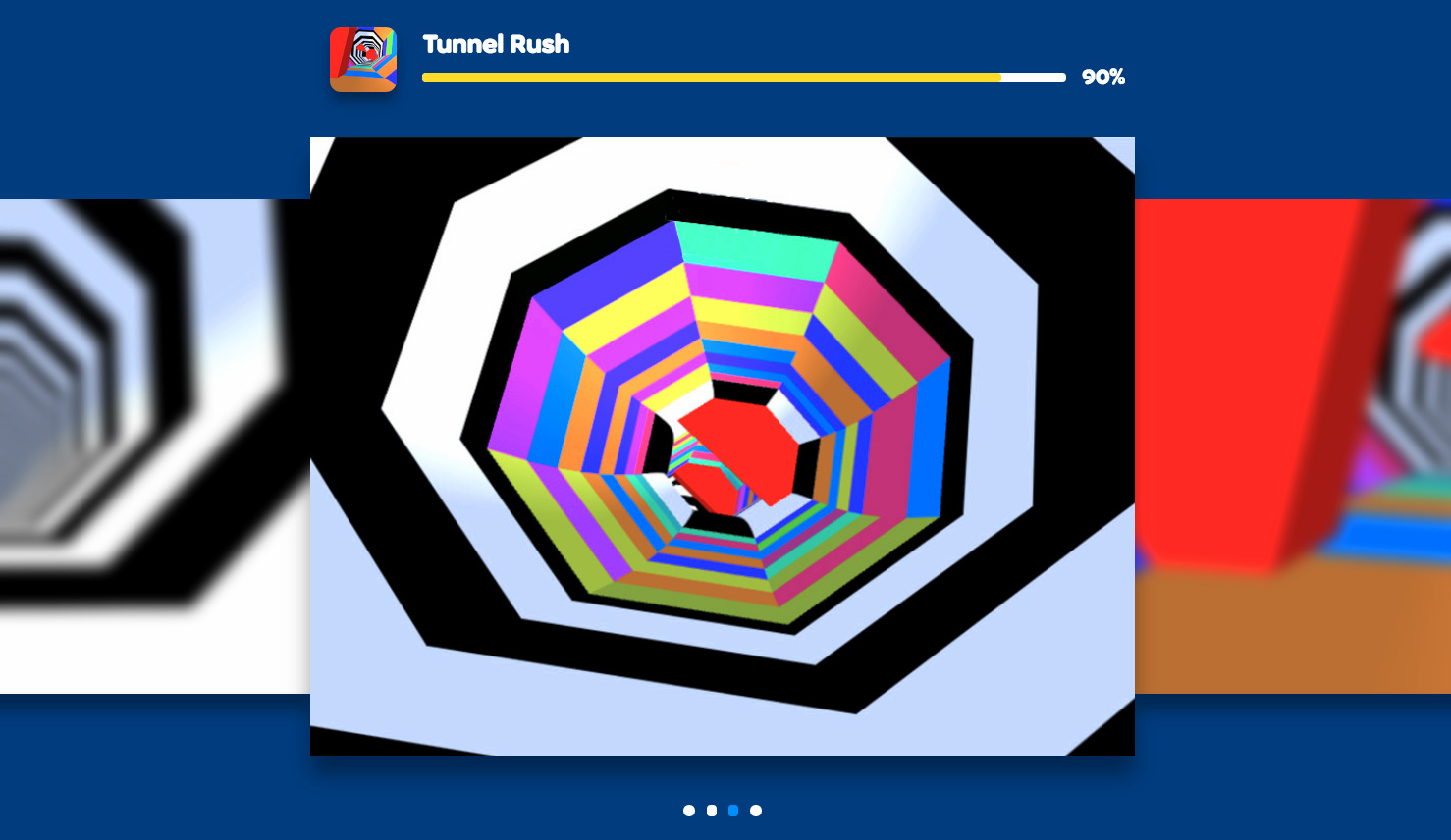 Tunnel Rush The Retro Kind Of Spaceship Game Gameindustry Com
