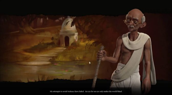 Video Game Tuesday: Gandhi in the Civ Series