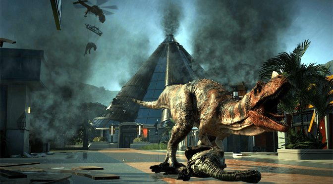 Dynamic Dinosaurs Tromp into Jurassic World Evolution
