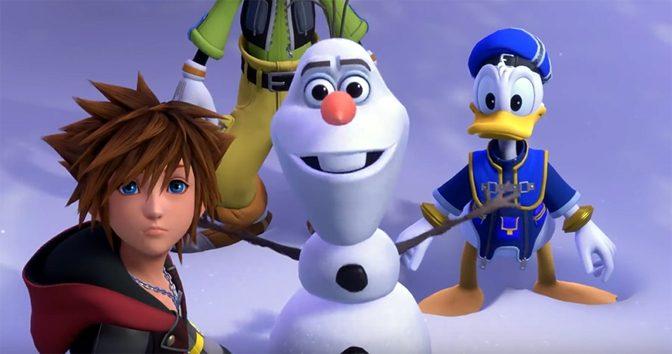E3 Expo: Kingdom Hearts 3 Adding Frozen Characters