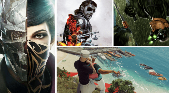 The evolution of stealth games